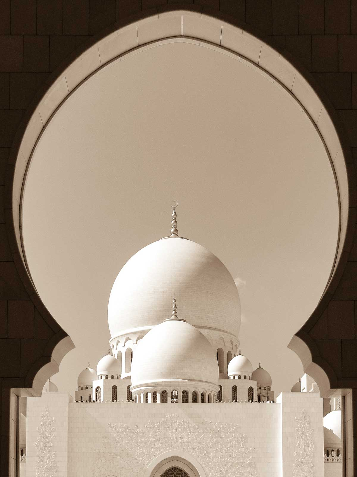 Sheikh Zayed Grand Mosque, Abu Dhabi - United Arab Emirates