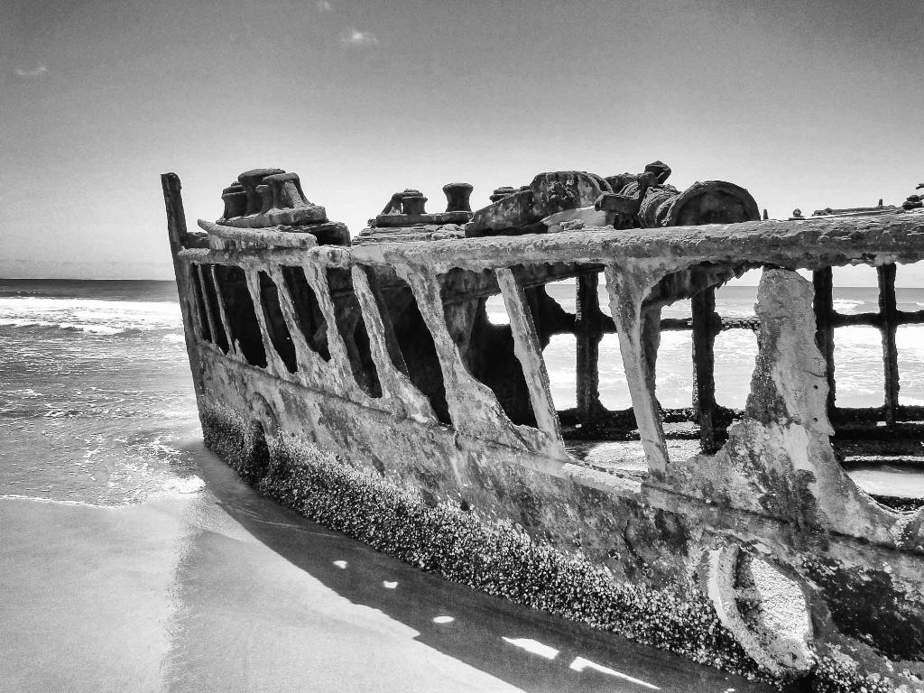 Maheno Shipwreck, Fraser Island - Australia