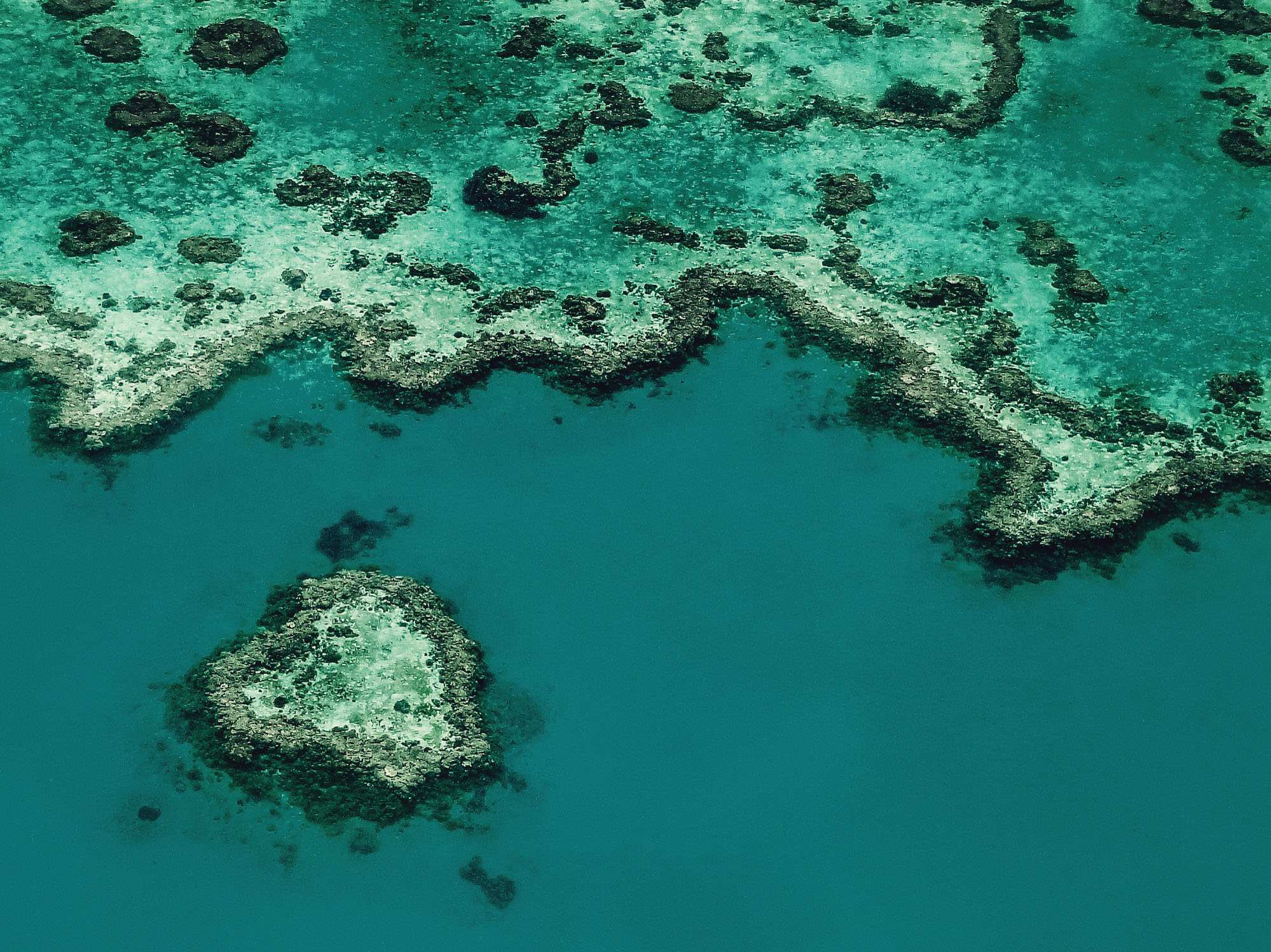 Heart Reef, Great Barrier Reef - Australia